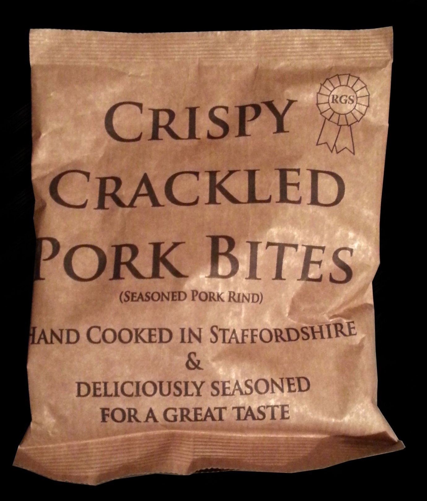 RGS Crispy Crackled Pork Bites Review - RGS, Crispy Crackled Pork Bites Review