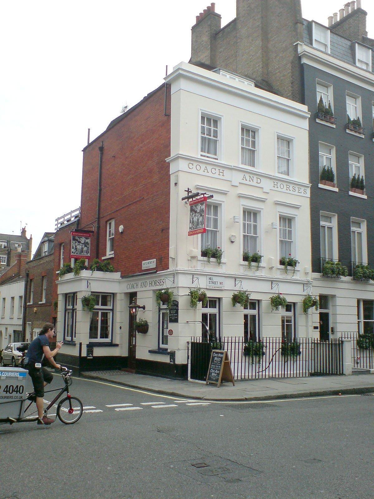 The Coach and Horses Mayfair London Pub Reviewb - The Coach and Horses (b), Mayfair, London - Pub Review