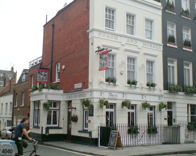 The Coach and Horses Mayfair London Pub Reviewb - The Coach and Horses (b), Mayfair, London - Pub Review