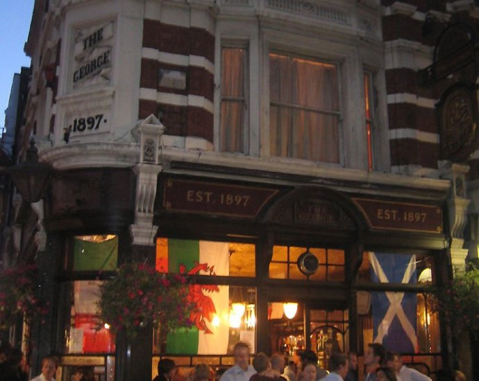 The George Soho London Pub Review - The George, Soho, London - Pub Review