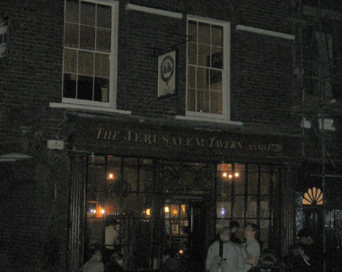 The Jerusalem Tavern Clerkenwell London Pub Review - The Jerusalem Tavern, Clerkenwell, London - Pub Review