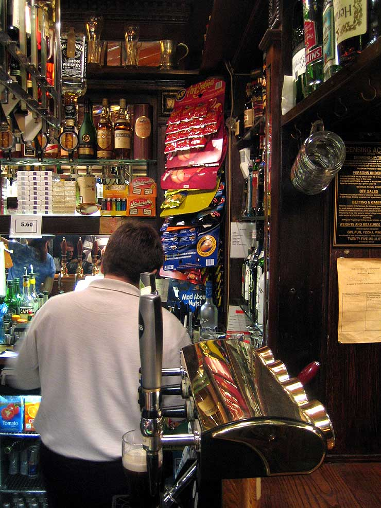 The Star and Garter Soho London Pub Review2 - The Star and Garter, Soho, London - Pub Review