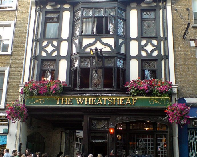 The Wheatsheaf Soho London Pub Review - The Wheatsheaf, Soho, London - Pub Review