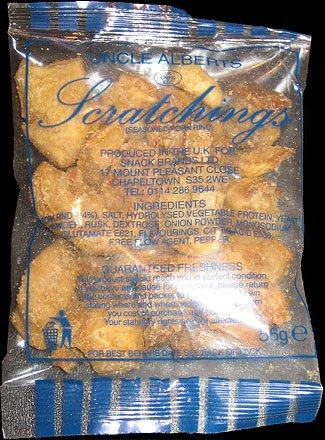 Uncle Alberts Scratchings Review - Uncle Alberts, Scratchings Review