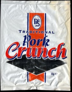 D S Foil Pack Traditional Pork Crunch Review - Pork Scratching Bags