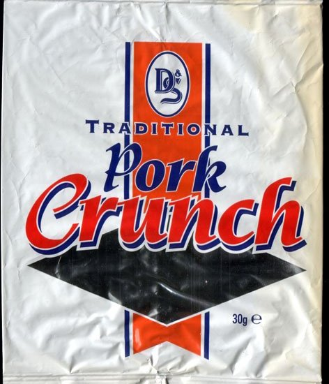 D S Foil Pack Traditional Pork Crunch Review - D & S, Foil Pack, Traditional Pork Crunch Review