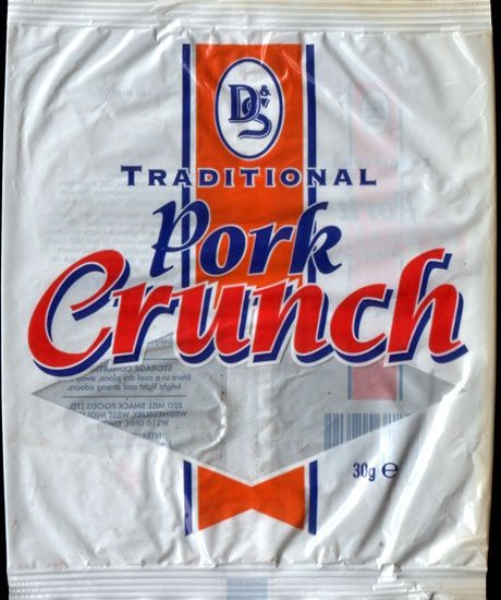 D S Traditional Pork Crunch Review - D & S, Traditional Pork Crunch Review