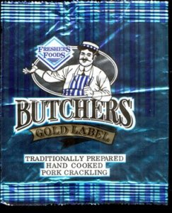 Freshers Foods Butchers Gold Label Pork Crackling Review - Pork Scratching Bags
