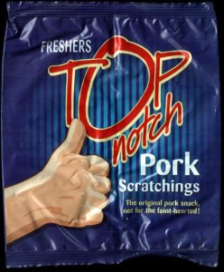 Freshers Top Notch Pork Scratchings Review - Pork Scratching Bags