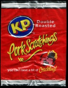 KP Double Roasted Pork Scratchings Reviewc - Pork Scratching Bags