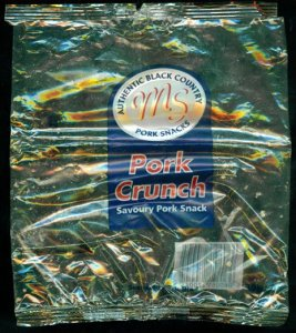 Midland Snacks Clear Bag Pork Crunch Review2 - Pork Scratching Bags