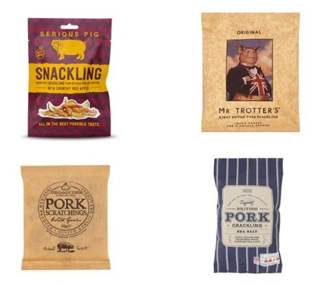 telegraph reviewed best pork scratchings - The Daily Telegraph gets in on the act...