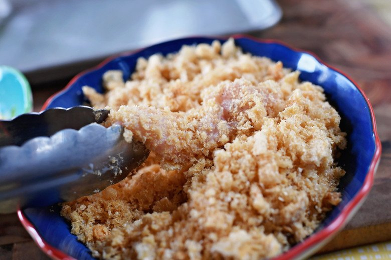 DSC 4860 - Pork Rind/Crunch Chicken Strips Recipe!