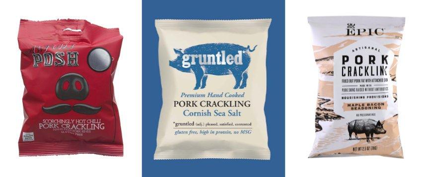 Artisinal pork scratchings