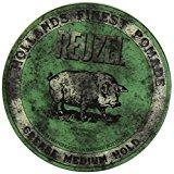 Impressive Reuzel Pomade Review - 4 Different Cans, Red, Pink, Green, Blue 4
