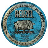 Reuzel Pomade Review (Red, Blue, Pink & Green) 2
