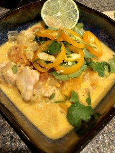 Whole30 Coconut Chicken Curry