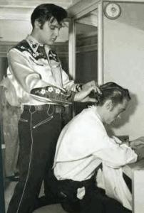 Johnny Cash Haircut