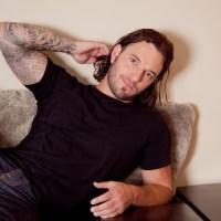 tattooed hunk ricky wayne jerks off at southern strokes