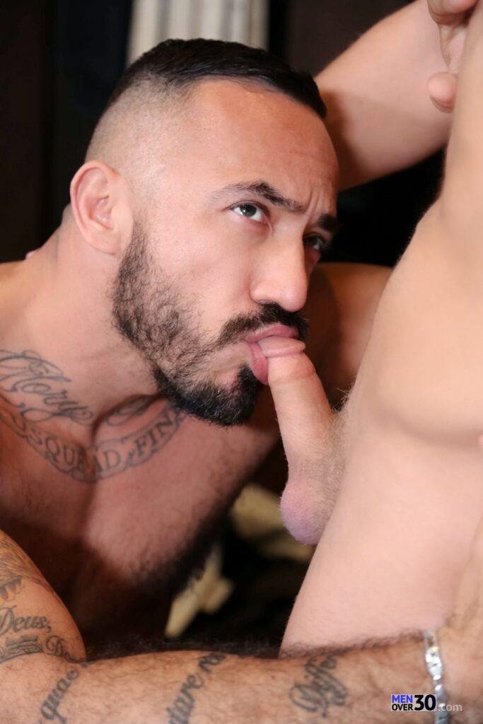 Alessio Romero Fucks Logan Vaughn - Hairy Guys In Gay Porn-1468