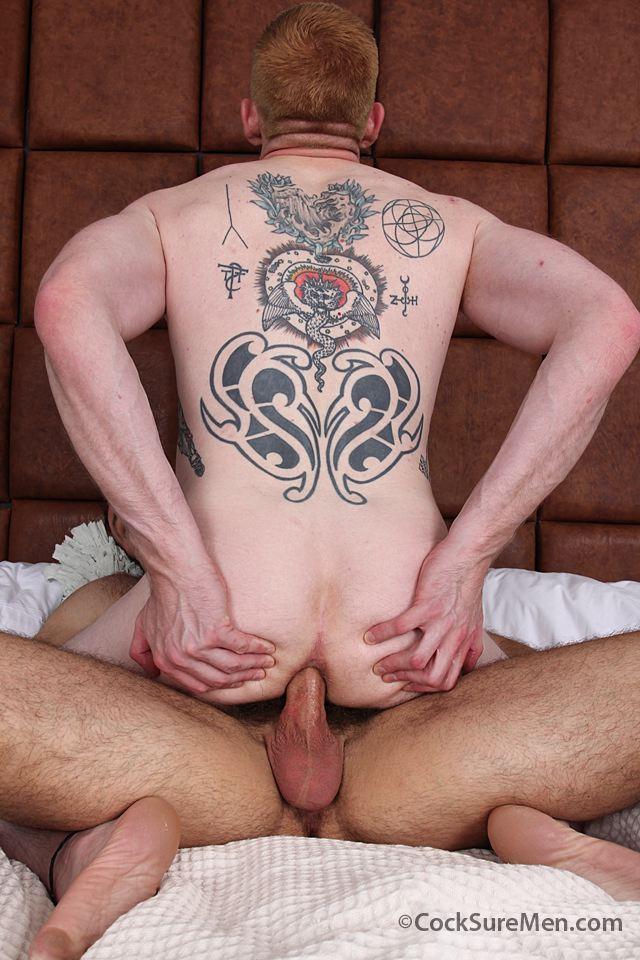 Muscle bear barebacks ginger stud