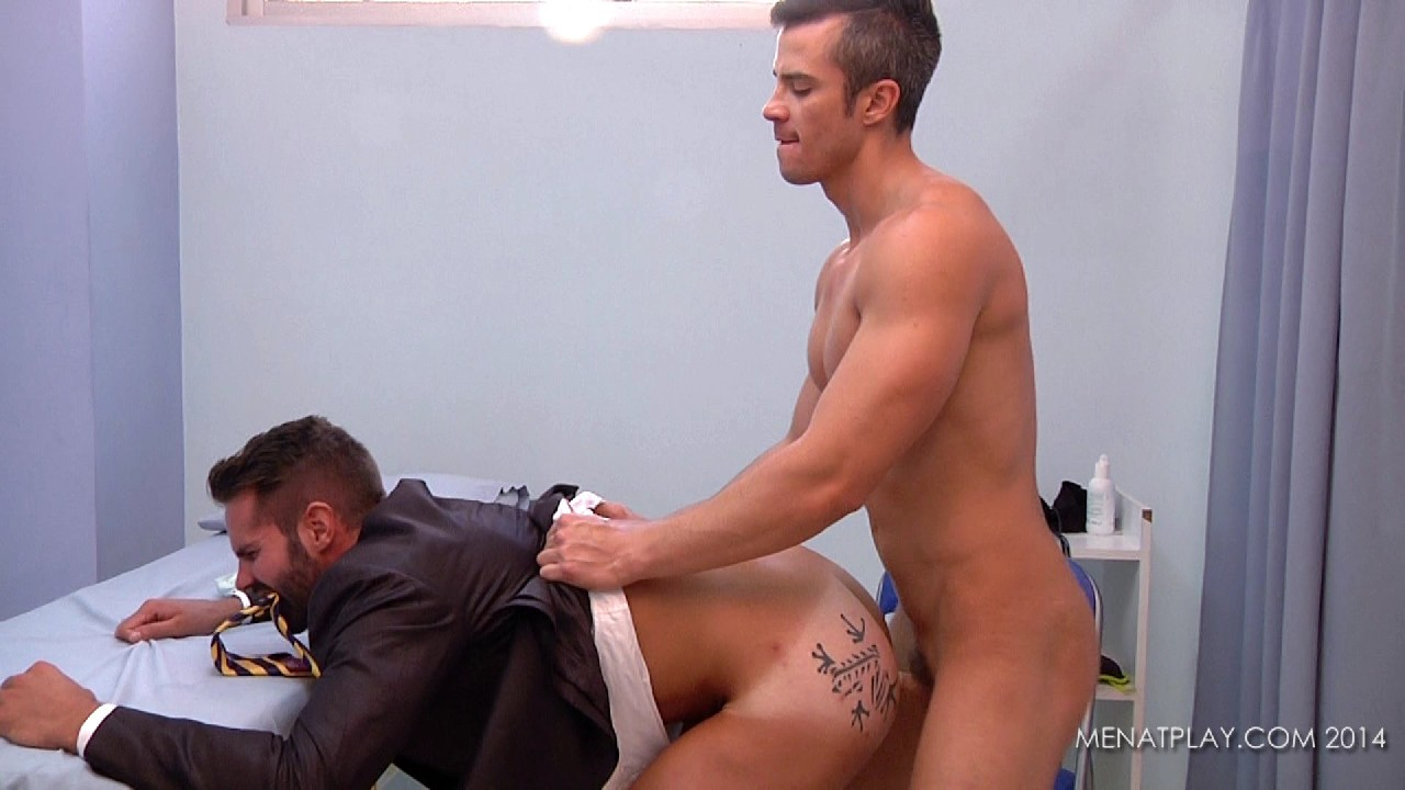 Dr Dani Robles Examines Maikel Cash   Hairy Guys In Gay Porn-5822