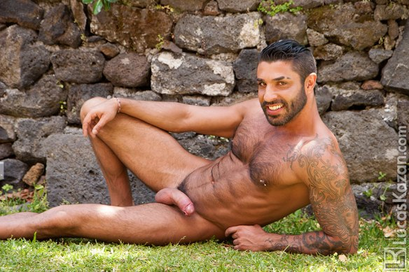 Sexy Hairy Guy Raul Korso Gets Naked Outdoor   Hairy -9061
