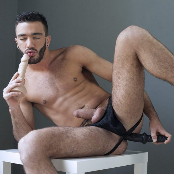 alejandro alvarez in intimate moments with his toys