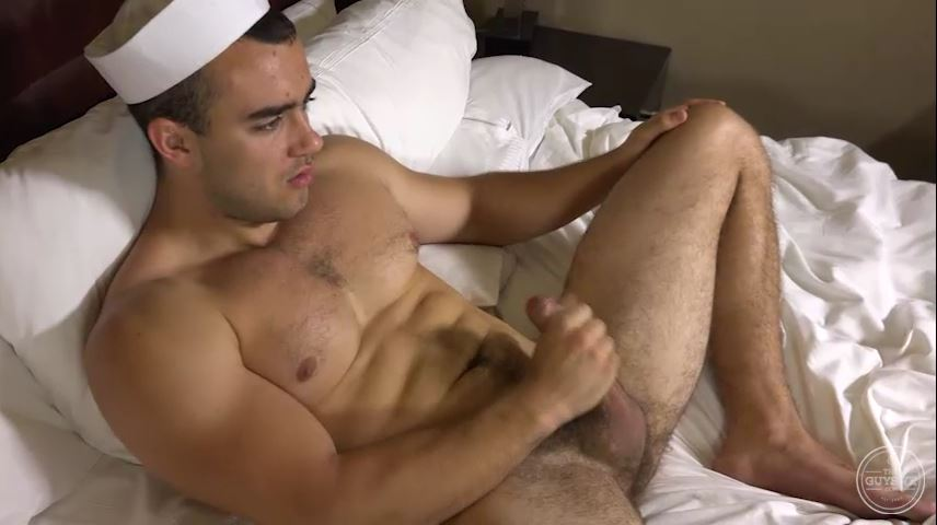 Sexy Sailor Jason Jerks Off   Hairy Guys In Gay Porn-9235