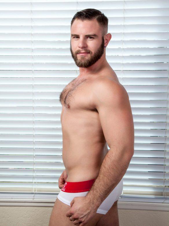 Nick Sterling drops a hot load inside of Lukas Valentine