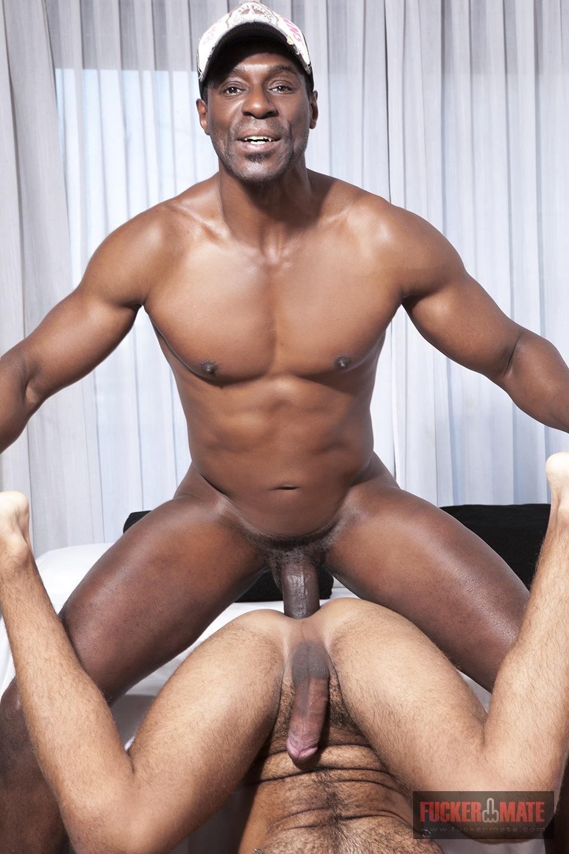 Hung Black Titan Barebacks Latin Stud - Hairy Guys In Gay Porn-9613