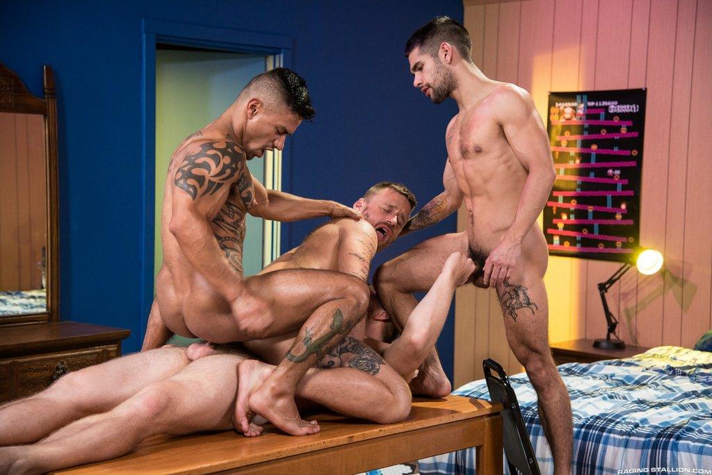Four Hot Guys Fuck Hard 05