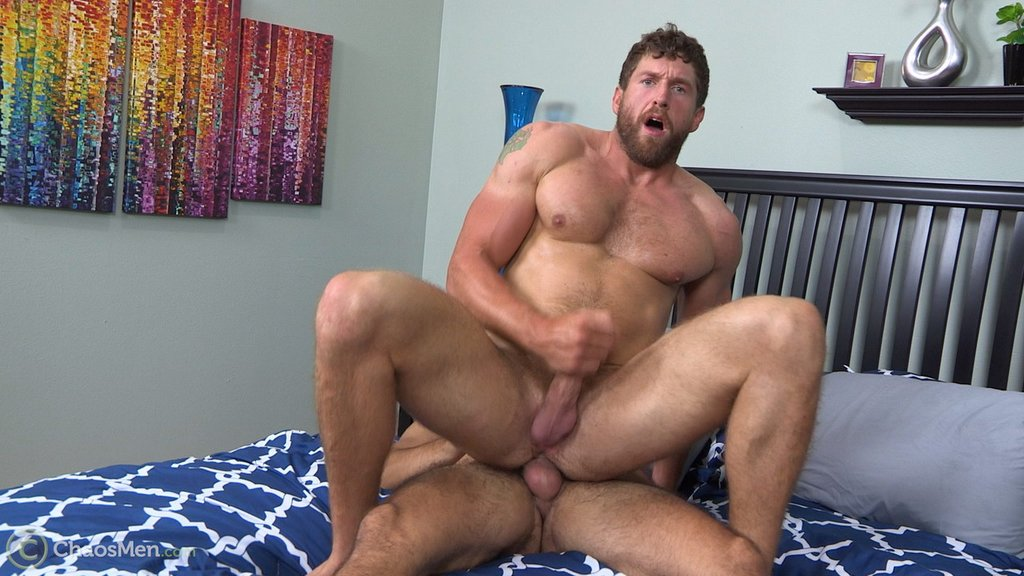 Masculine Hunk Rides Big Raw Cock 04