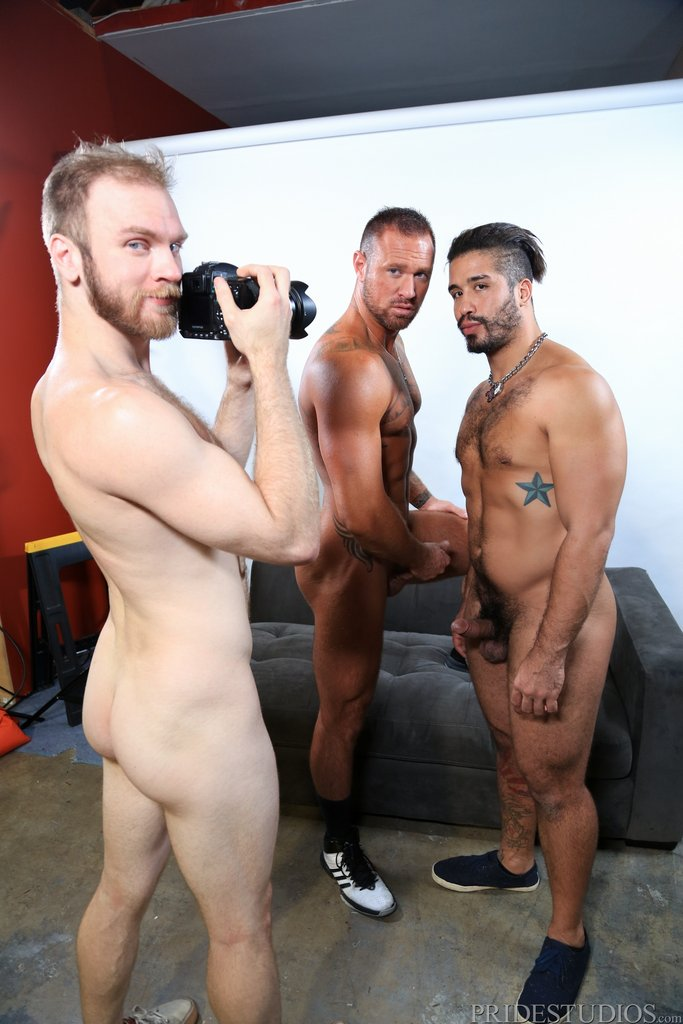 Two Hot Gay Models Have Threesome With Sexy Photographer 08