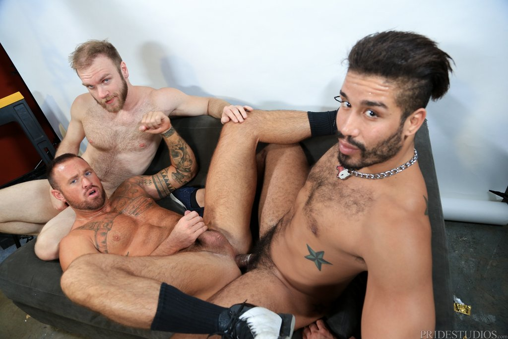 Two Hot Gay Models Have Threesome With Sexy Photographer 09