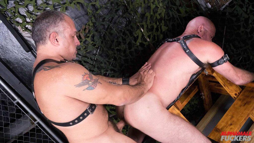 Leather Daddy Jay Ricci Barebacks Luis Casola 02