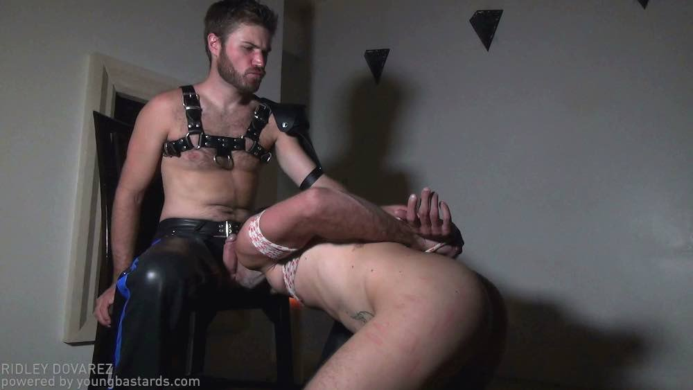 Hairy Master Doryann Marguet Drills Slave Bottom 14