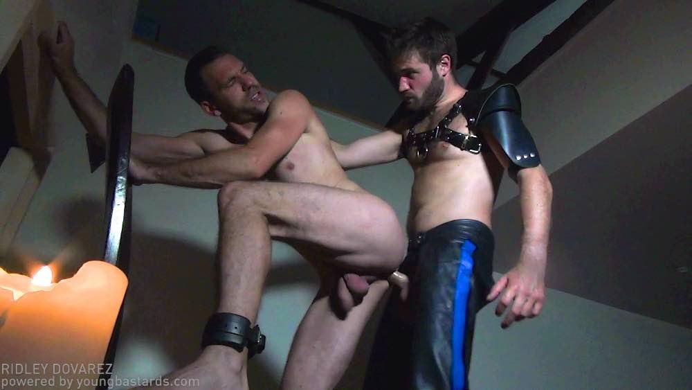 Hairy Master Doryann Marguet Drills Slave Bottom 01