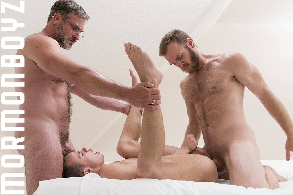 Peter Marcus and Kristofer Weston Drill Logan Cross Raw 10