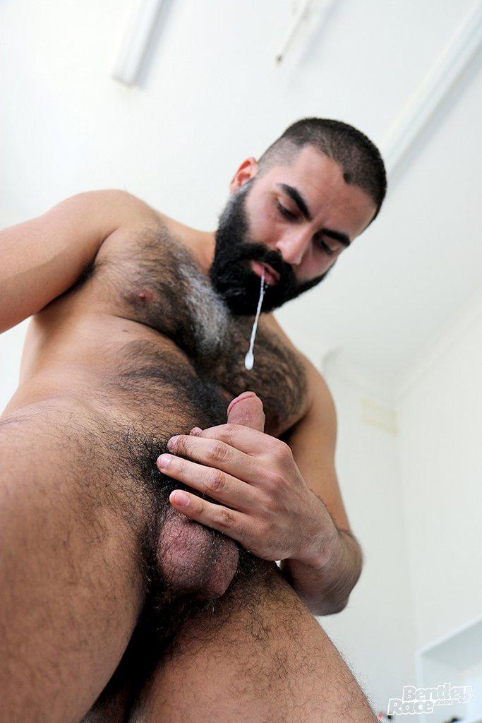 Hot Hairy Stud Bastien Passif Jerks Off 05