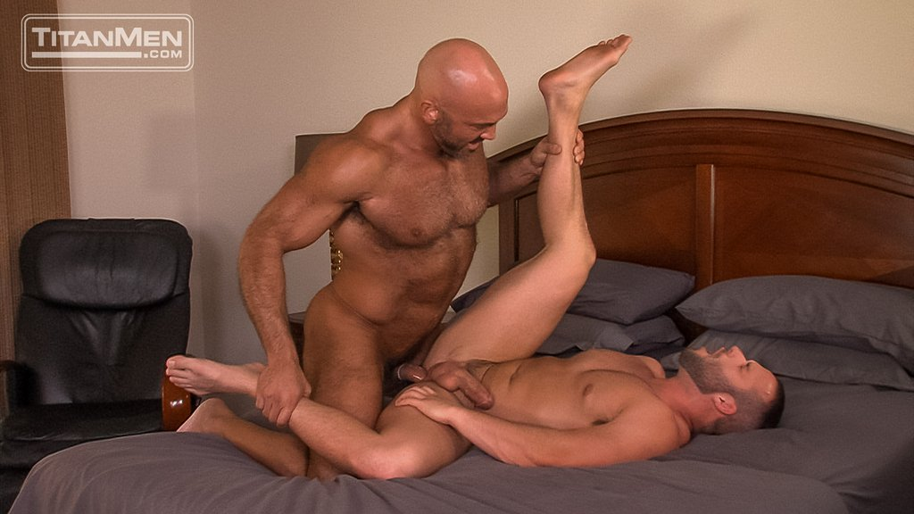 Jesse Jackman Fucks Luke Adams Hard 10