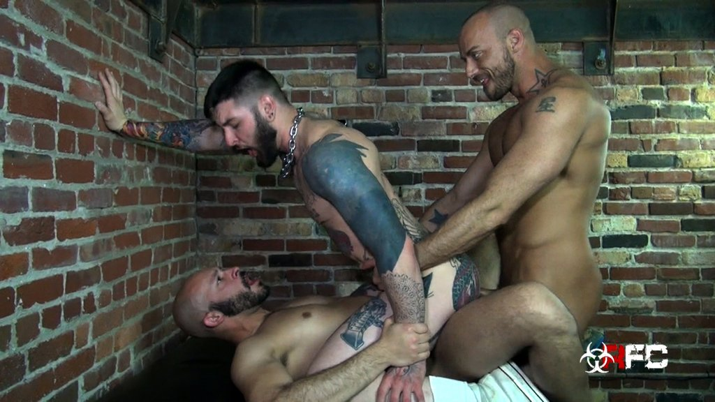 Three Horny Guys Fuck Raw 07