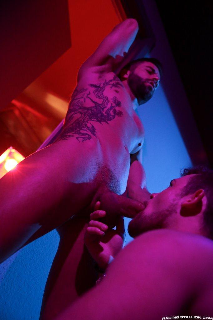 Hector de Silva and Kurtis Wolfe Suck Dicks 05