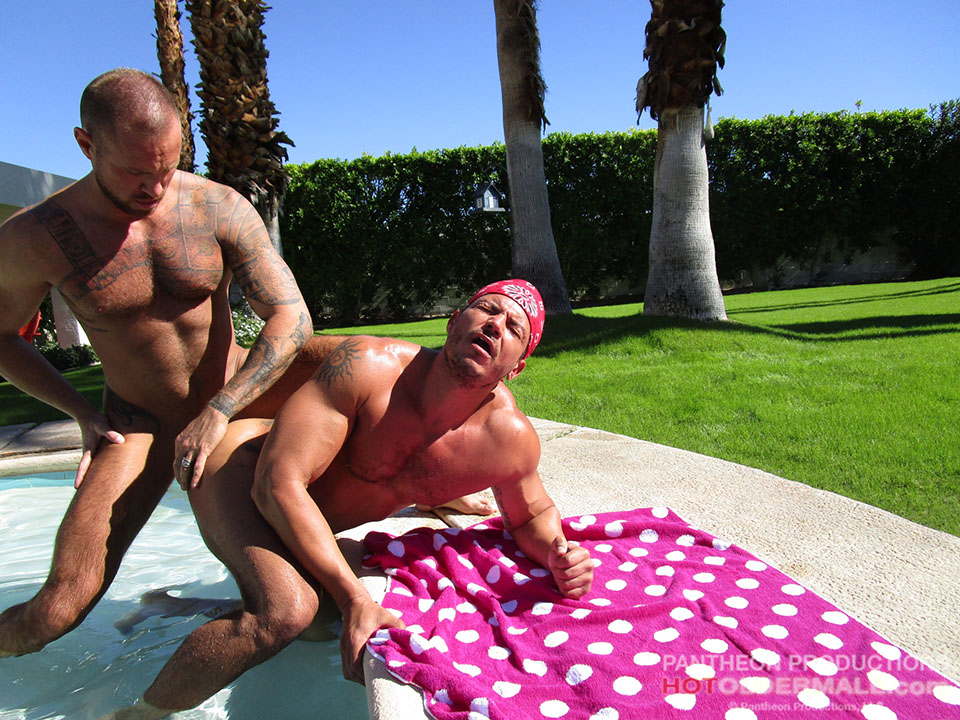 Michael Roman Breeds Angelo Marconi Poolside 07