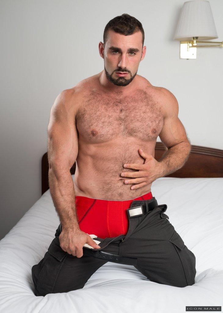 Horny Daddy Jaxton Wheeler Shows Off 06