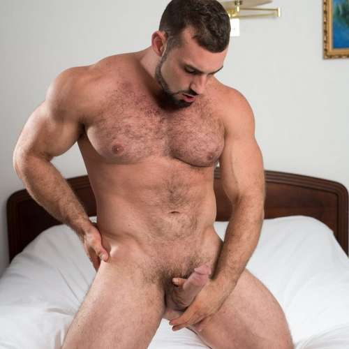 horny daddy jaxton wheeler shows off