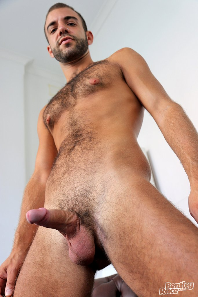 Hairy Guy Layton Charles Shows off 23
