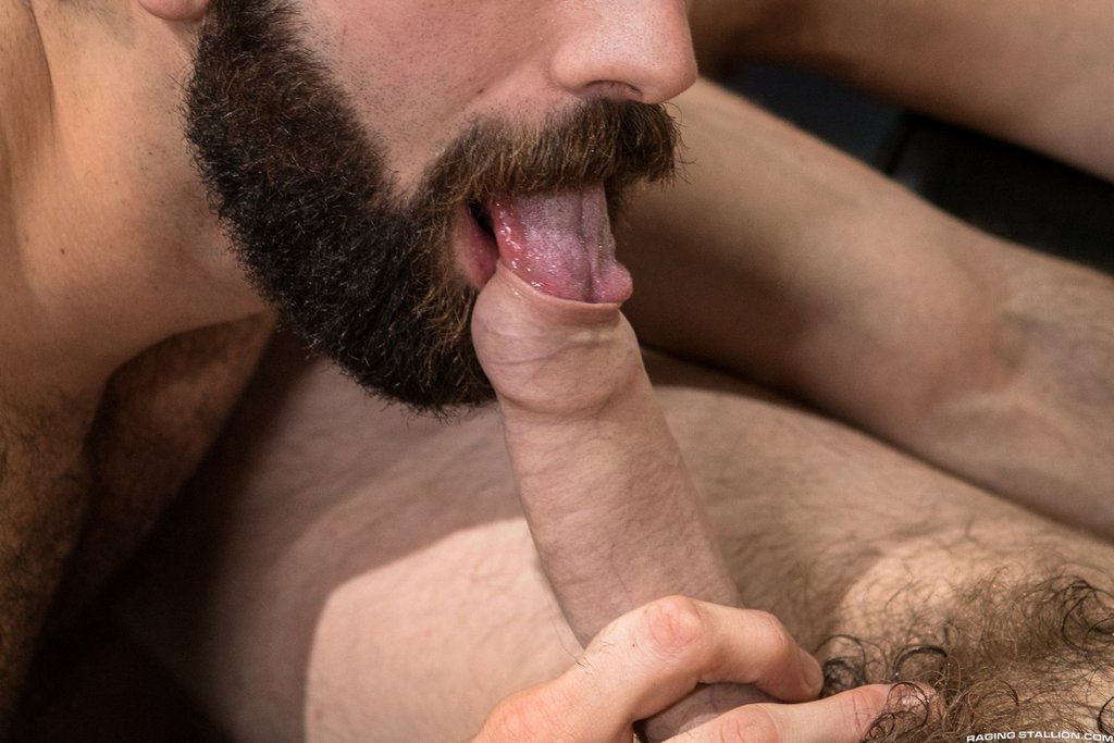 Two Sexy Hairy Guys Suck Dicks 05