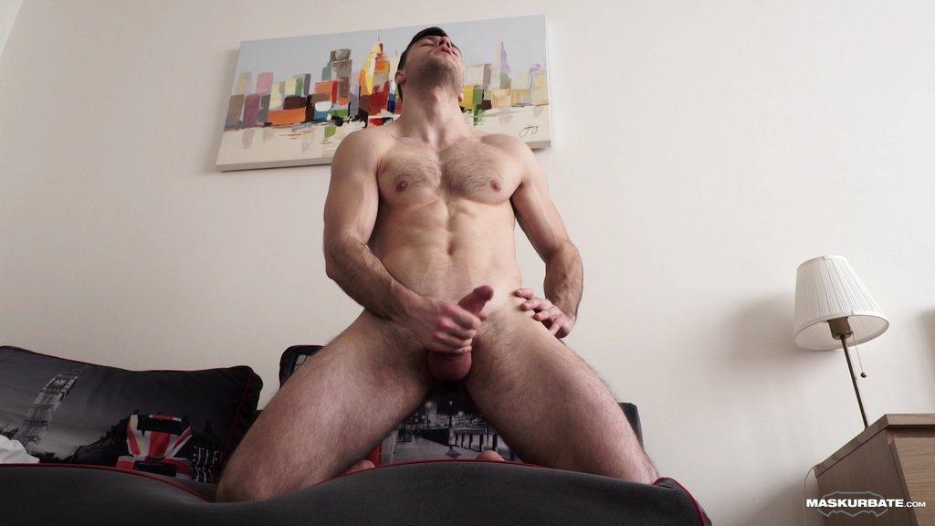 Hot Guy Sam Cuthan Jerks Off 09