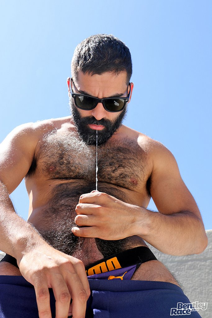 Hairy Stud Bastien Passif Shows Off 18